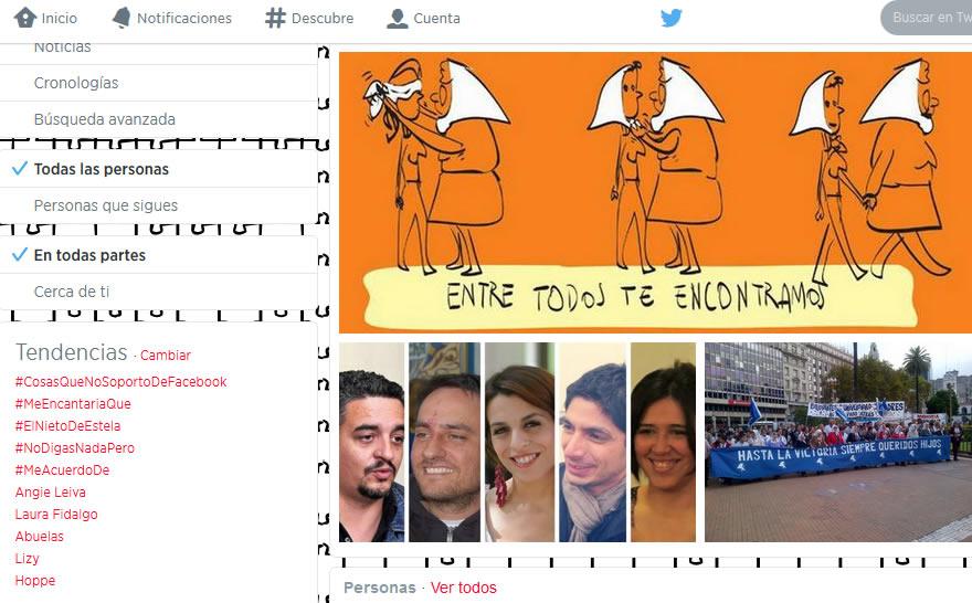 El Nieto de Estela en las redes sociales