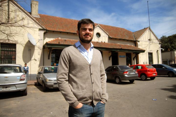 Rodrigo Alvarez candidato en Hurlingham