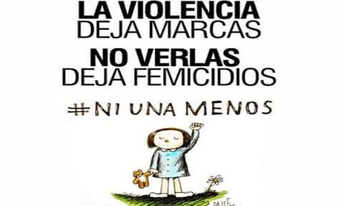 Niunamenos Víctimas Y Familias De Las Mujeres Asesinadas