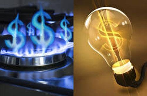 aumento de luz y gas
