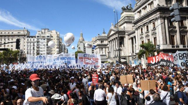 Marcha de docentes