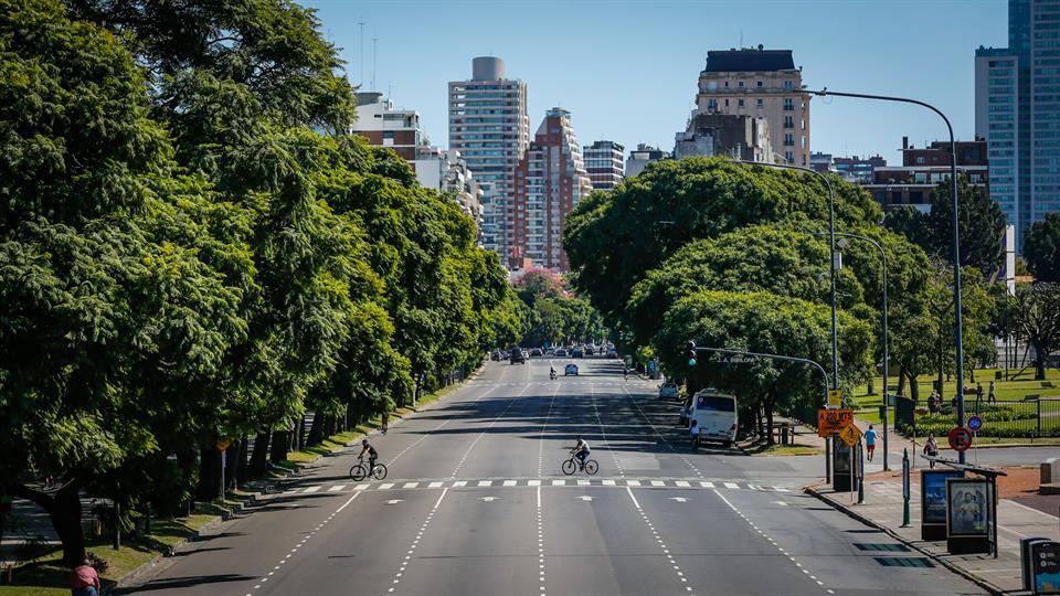 calles desiertas paro