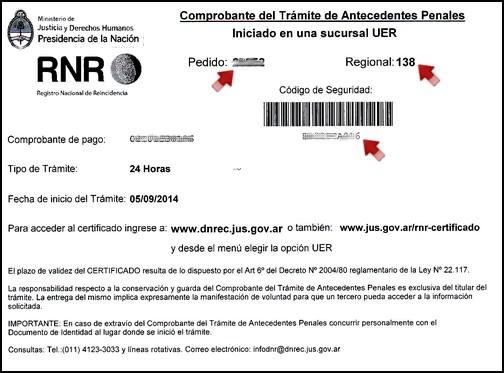 El certificado de antecedentes penales se podr obtener on for Ministerio del interior antecedentes
